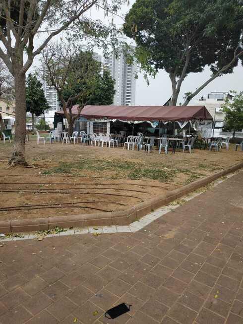 בית כנסת ארעי ברחוב דון יוסף הנשיא