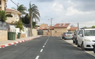 הכביש החדש ברמת אפרים