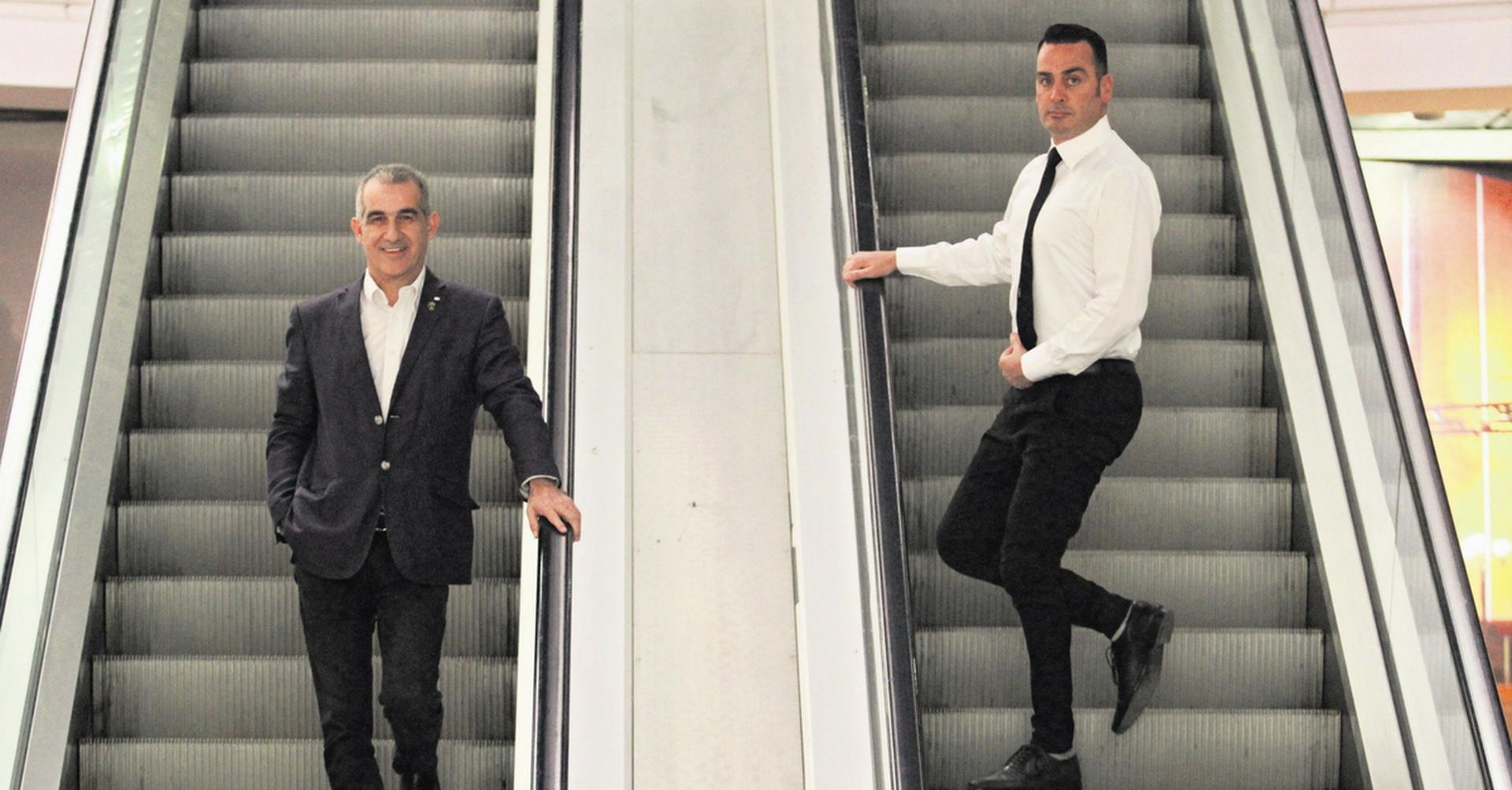 יוני ג'ורנו ויהודה זפרני (צילום: אסף פרידמן)