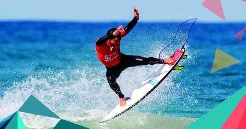 תחרות גלישה (צילום: ארגון גולשי הגלים בישראל)