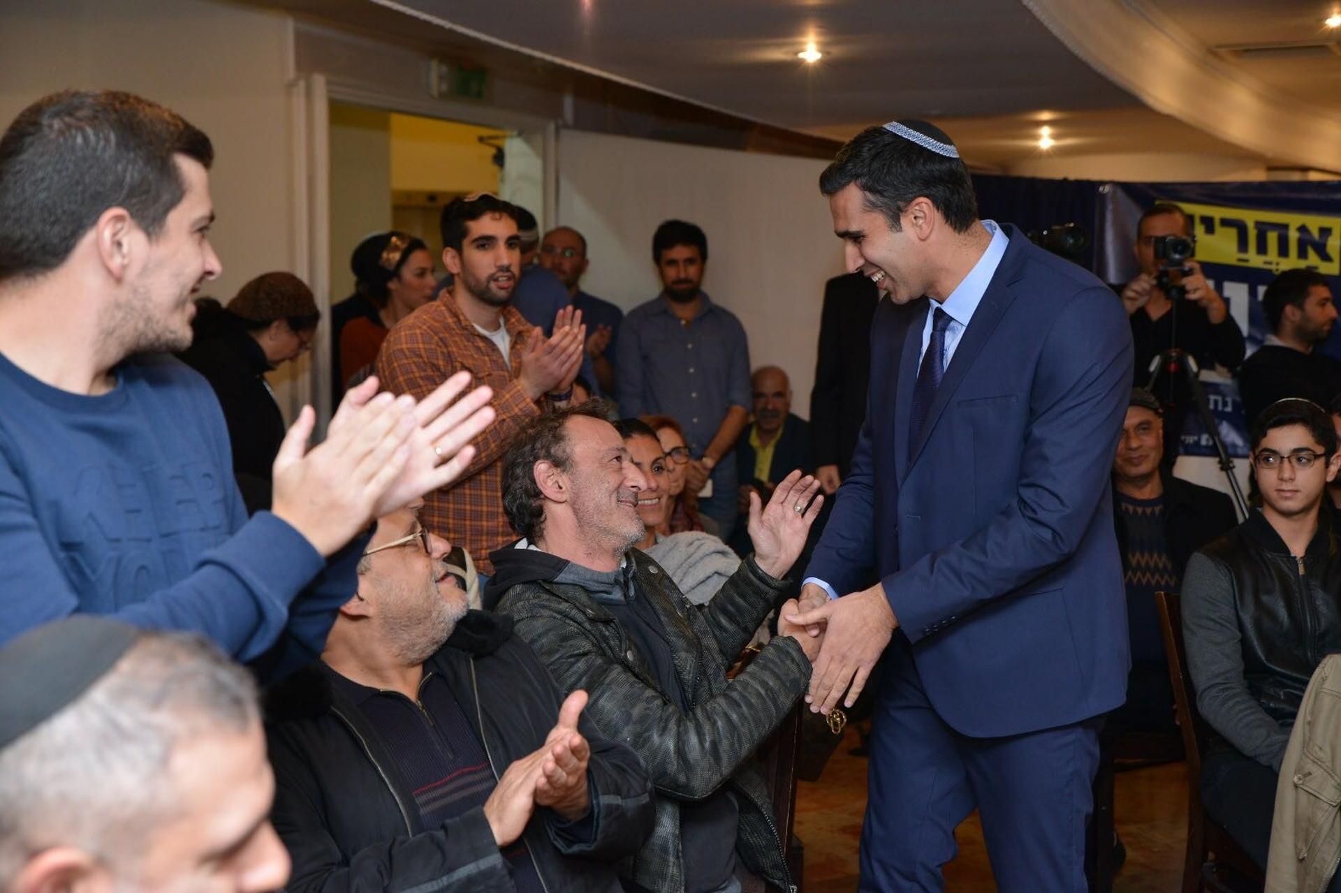 יוני שטבון הכריז על מועמדותו לראשות העיר נתניה
