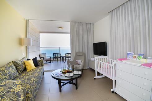 חדר היולדת  (צילום: מלון רמדה)