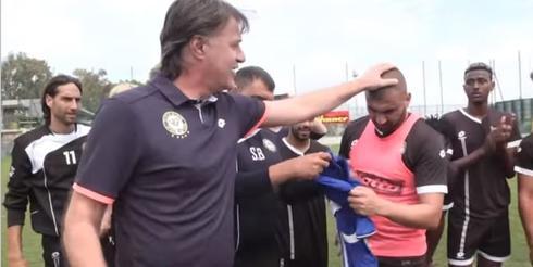 ערן לוי מוזמן לנבחרת - צילום ההתאחדות לכדורגל