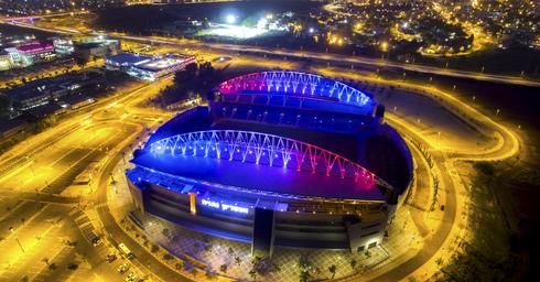 אצטדיון נתניה (צילום: רן אליהו)