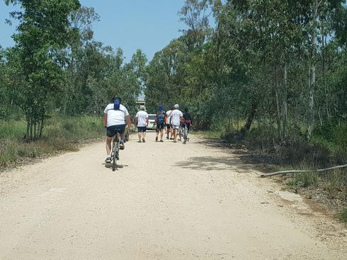 מסע האופניים, קרית אולגה