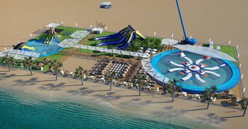הדמייה: פארק האטרקציות שתוכנן בחוף פולג