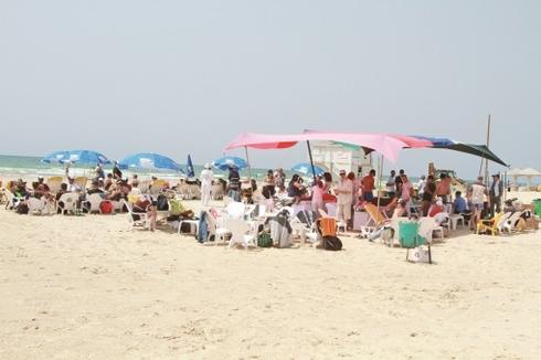 חוף פולג (צילום: אסף פרידמן)