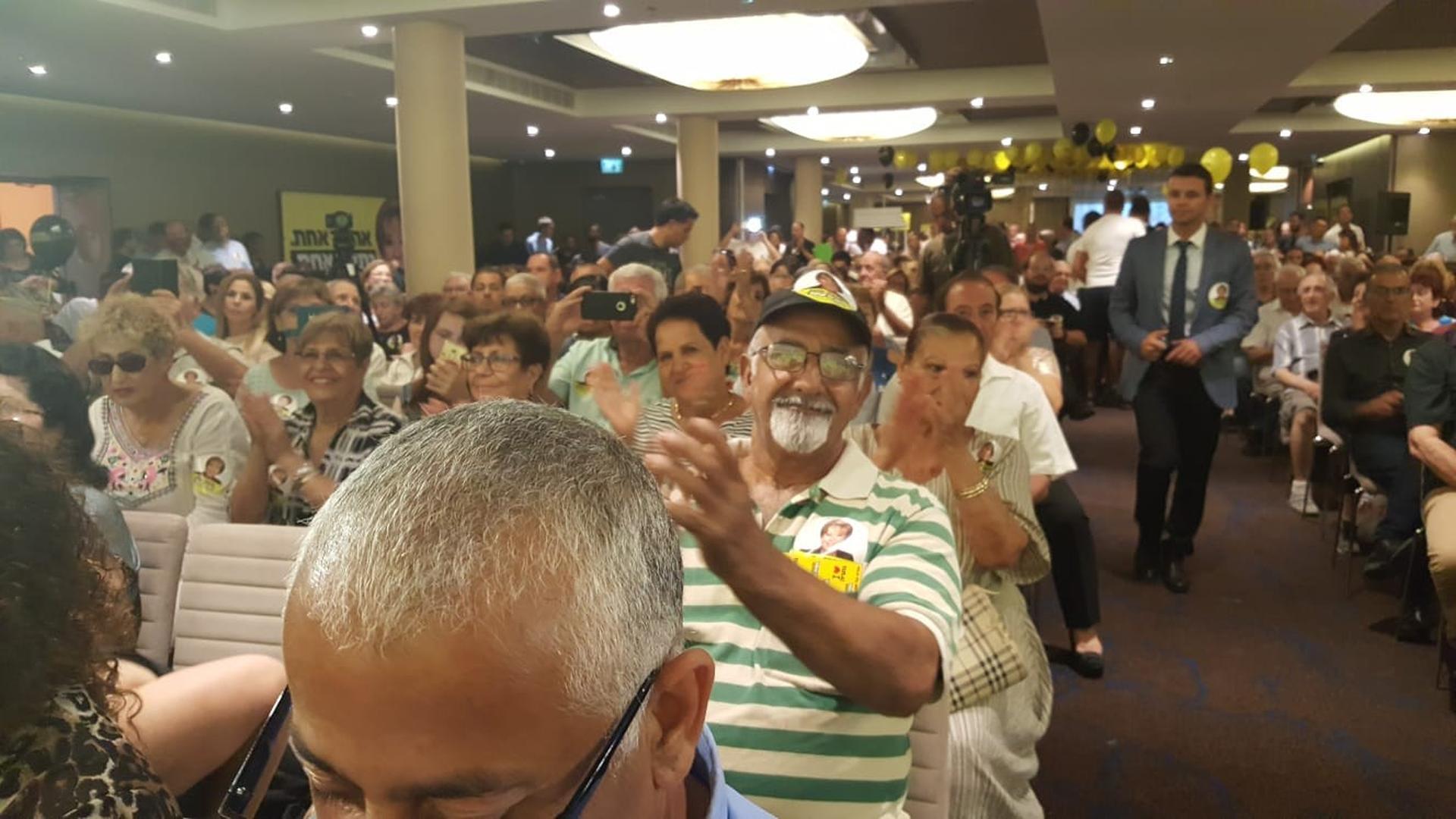 הקהל של פיירברג-איכר (צילום: ניר איסקוב)