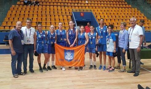 בנות עירוני נתניה בכדורסל | צילום: דוברות עיריית נתניה