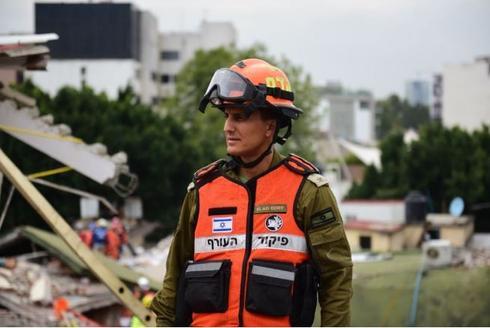 """מג""""ד הפיקוד, סא""""ל אלעד אדרי, היה אז סגן מפקד המשלחת   צילום: דובר צה""""ל"""