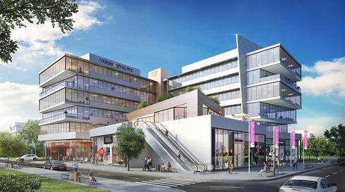 צילום הדמיה: משרד טיבה אדריכלים
