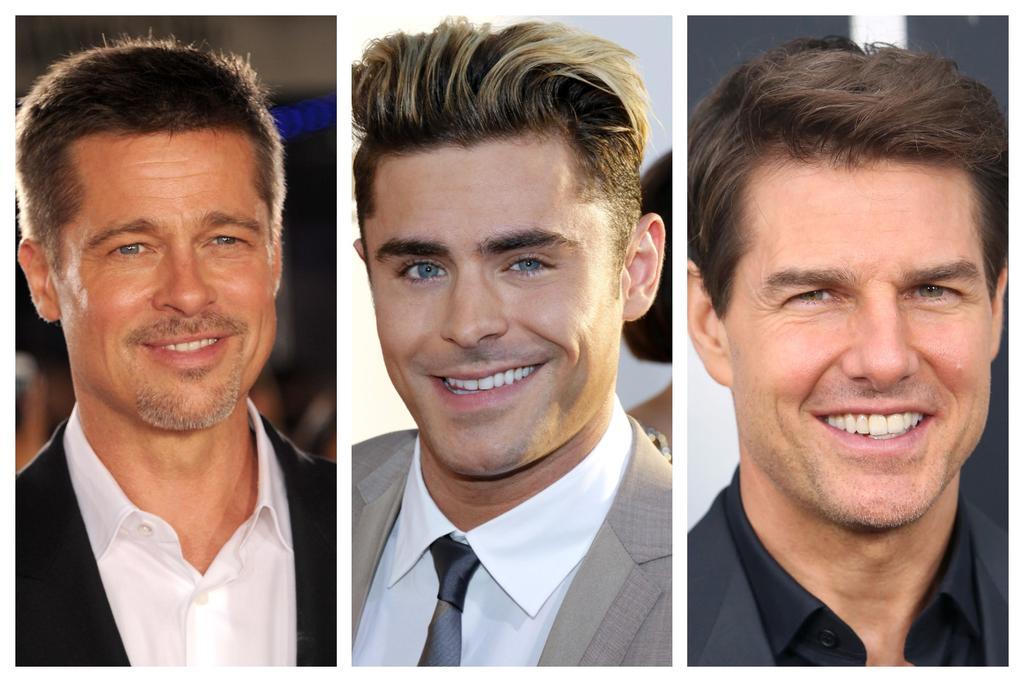 כולם רוצים להיות בראד פיט, ז'אק אפרון או טום קרוז. צילום: shutterstock