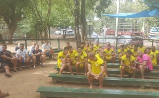 מכבי נתניה בכדורגל בקייקי כפר בלום | צילום: קייקי כפר בלום
