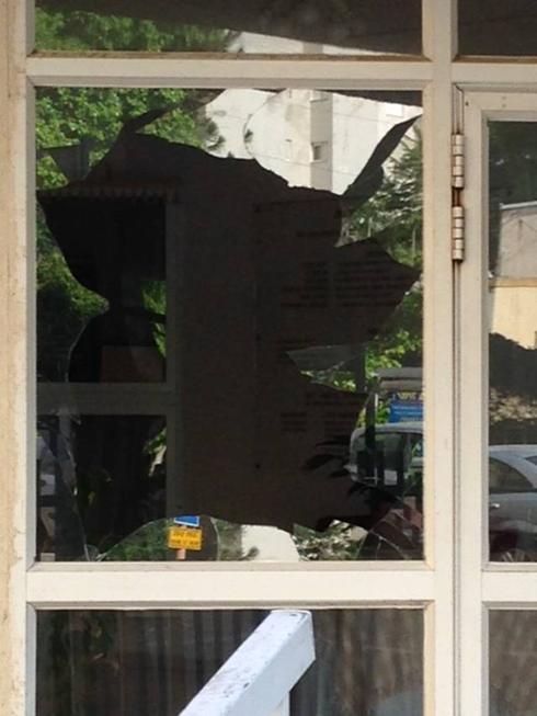 וונדליזם והרס נגד בבית הכנסת הקונסרבטיבי בנתניה (צילום: באדיבות קהילת בית ישראל)