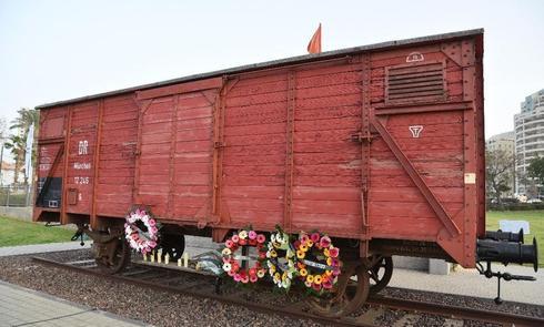 טקס יום השואה הבינלאומי בנתניה | צילום: רן אליהו