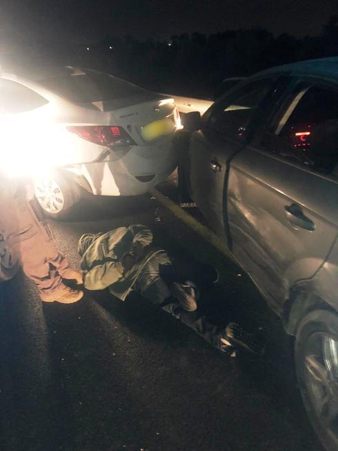 שני חשודים נעצרו. צילום: דוברות משטרת ישראל