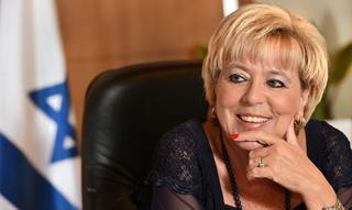 ראש העיר נתניה מרים פיירברג-איכר. (צילום רן אליהו)