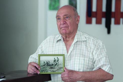 """עזרא משקיף-ענצ'י ואחיו יחזקאל (כרמל) ז""""ל   צילום: אסף פרידמן"""