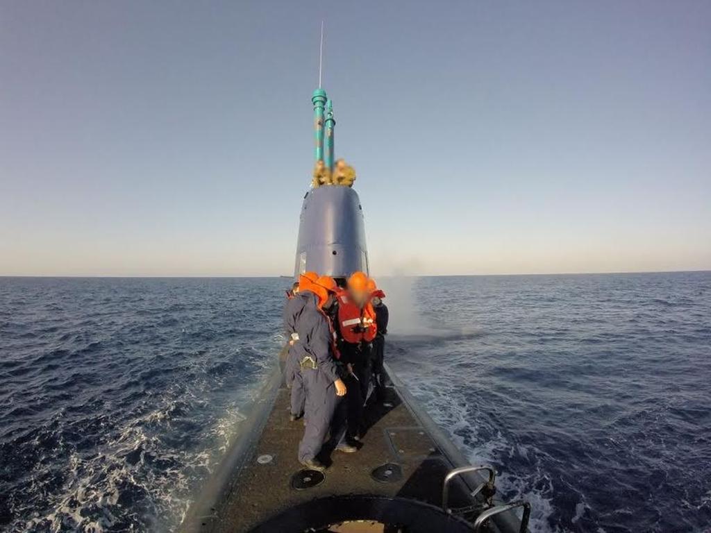 תושב נתניה סמל רון סיים קורס צוללן של חיל הים