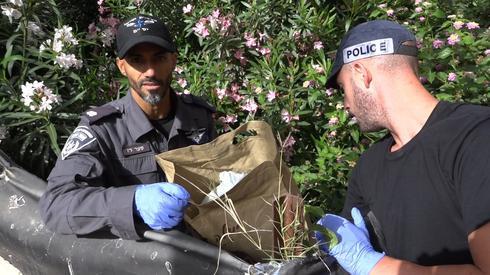 המעצרים בנתניה | צילום: דוברות המשטרה שרון