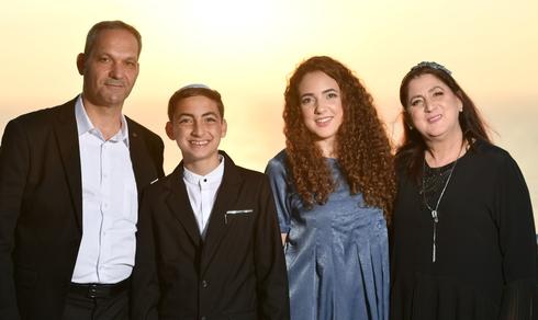 משפחת דלויה בבר המצווה. האורחים התרגשו | צילום: אלבום פרטי