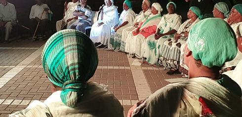 גמלאי העדה האתיופית. צילום: אבי טללה