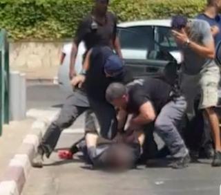 מעצר החשודים | צילום: דוברות המשטרה