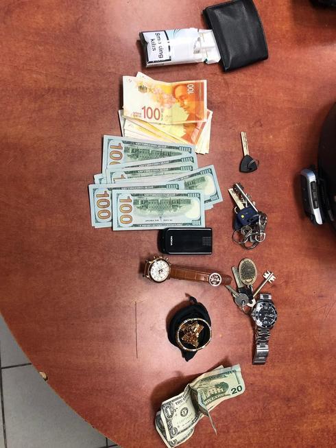 השלל שנגנב | צילום: דוברות המשטרה
