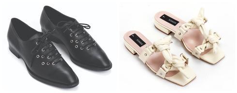 נעליים/סנדלים של המותג NOON . צילום: איליה מלינקוב