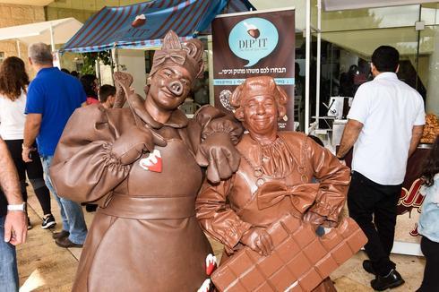 פסטיבל השוקולד ה-4 הבינלאומי בנוף הגליל. צילום: סיון כפיר