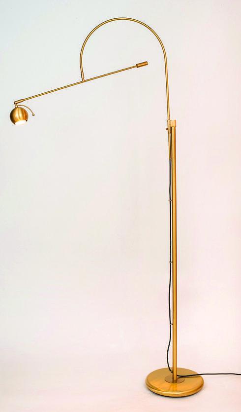 ברגמן תאורה - מהראשונים שעיצבו בארץ תאורה, גוף תאורה מפליז. צילום: אביב קורט